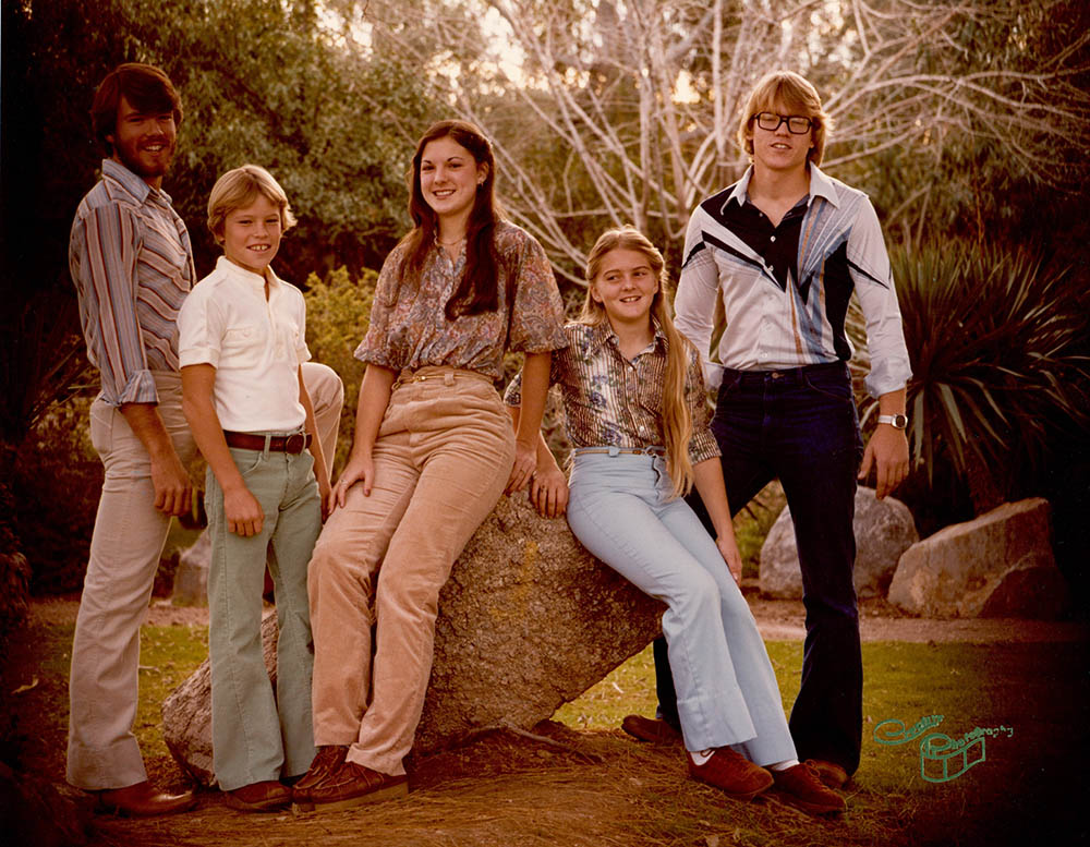 Awkward 70s Getz Kids, Jeff Rt - 1978
