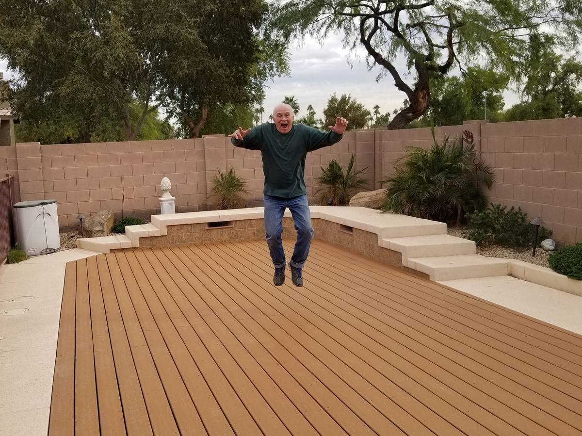 deckover pool retirement - Tired of it, retire it